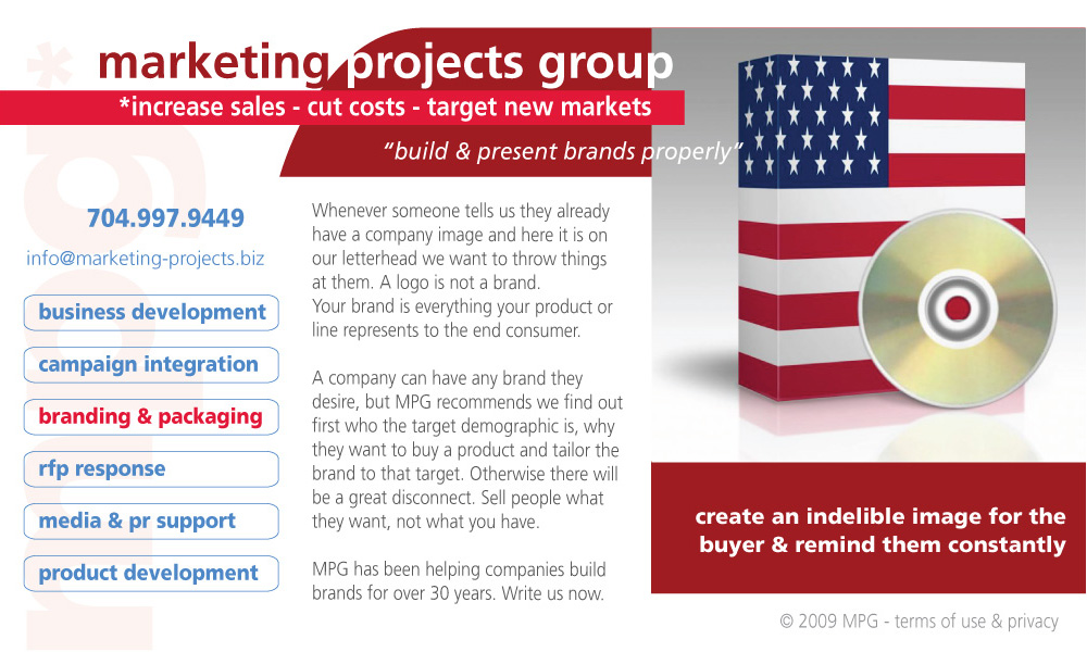 Marketing Projects Group Branding and Packaging